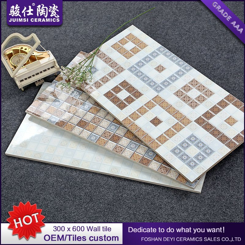 Foshan Waterproof 300X600 Kitchen & Bathroom Ceramic Wall Tile