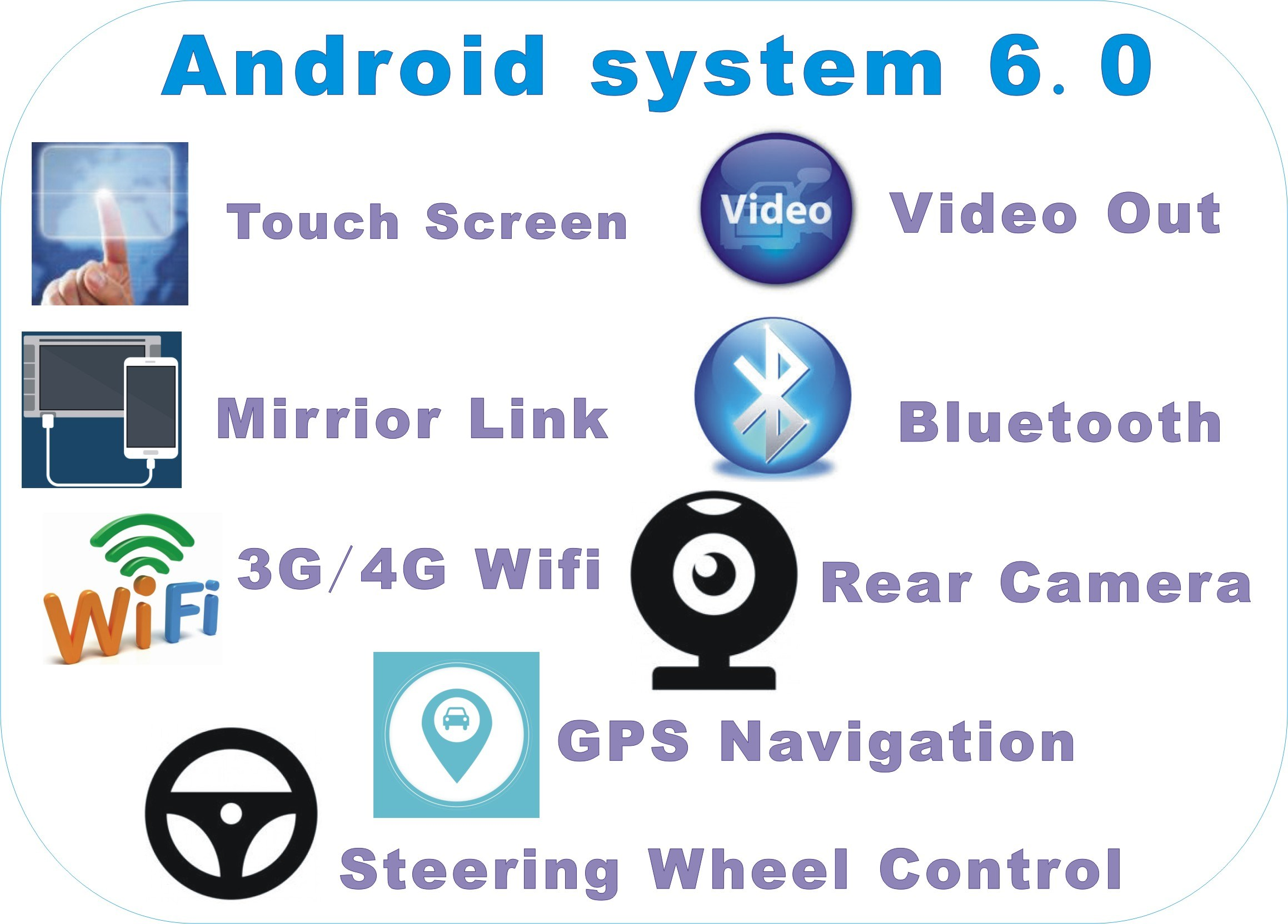 Android 6.0 System 9 Inch Big Screen GPS Navigation for Honda Civic 2016