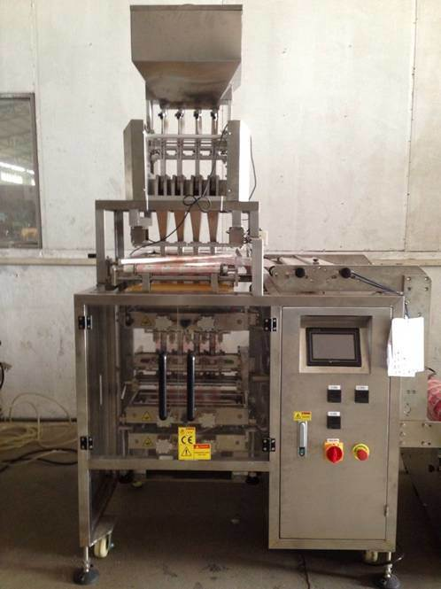 Multi Lanes Granule Filling Packaging Machine