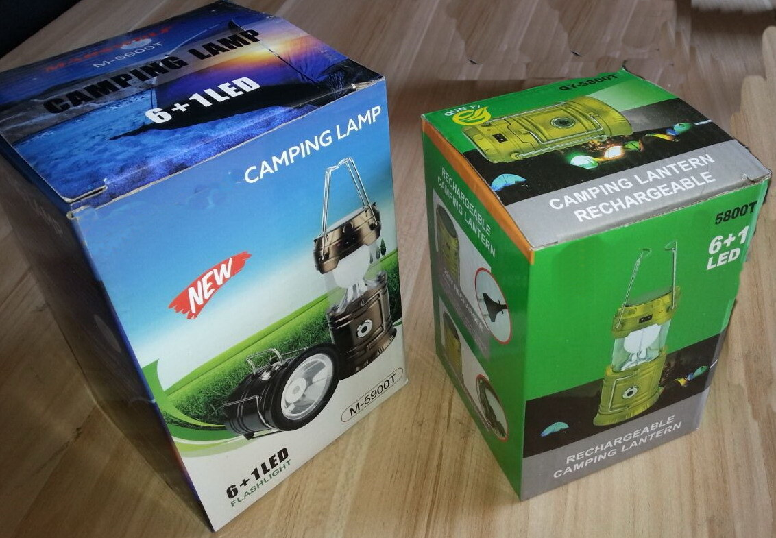 New Product Solar LED Camping Light
