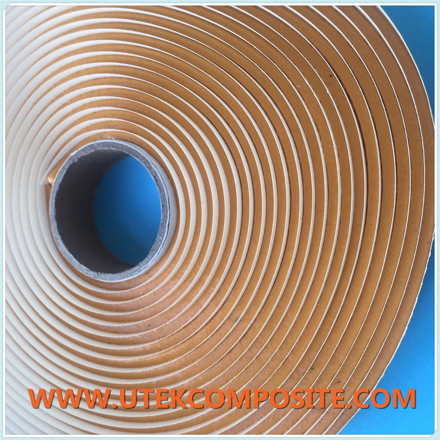 Yellow Color Vacuum Sealing Adhesive Tape