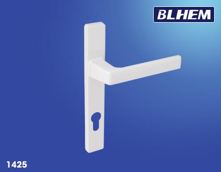 UPVC Aluminium Long Plate Door Handle with Powder Coating