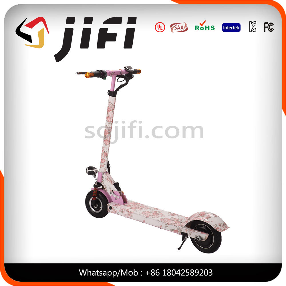 250W Foldable 2 Wheel Mobility Throttle Grip Electric Self Balance Scooter