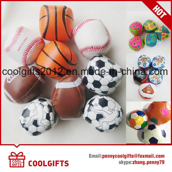 New Bulk Juggling Ball, Mini Kids Leather Kick Ball Souvenir
