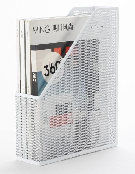 Metal Mesh Stationery Magazine Holder/ Office Desk Accessories