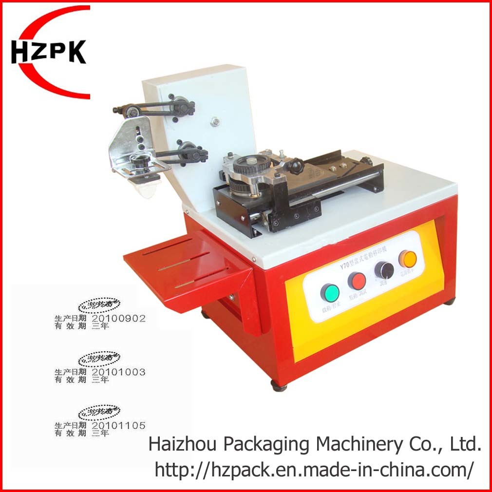Oil Cup Type Pad Printing Machine Printer Coding Machine Drd-Y70