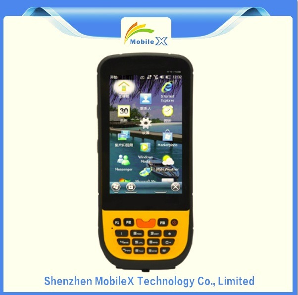 Windows Mobile 6.5 OS, Rugged Handheld PDA, Data Collector, Industrial Mobile Computer