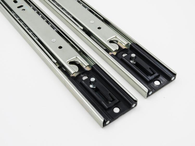 3 Fold Ball Bearing Drawer Slide with Locking Mechanism