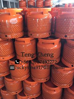 Steel LPG & Tank Gas Cylinder-6kg