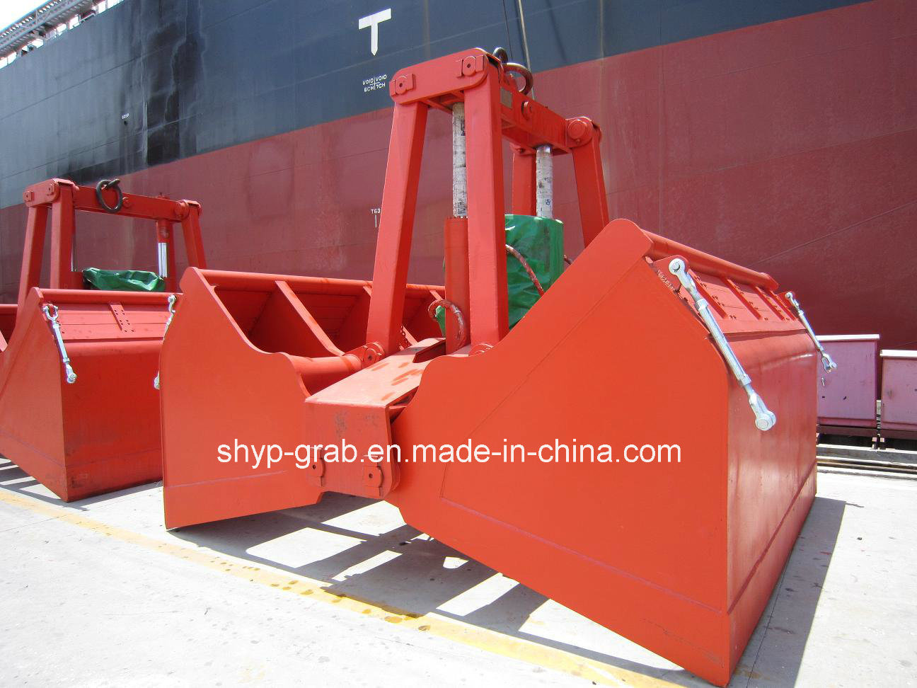 Motor Hydraulic Clamshell Grab with Ce Certificate