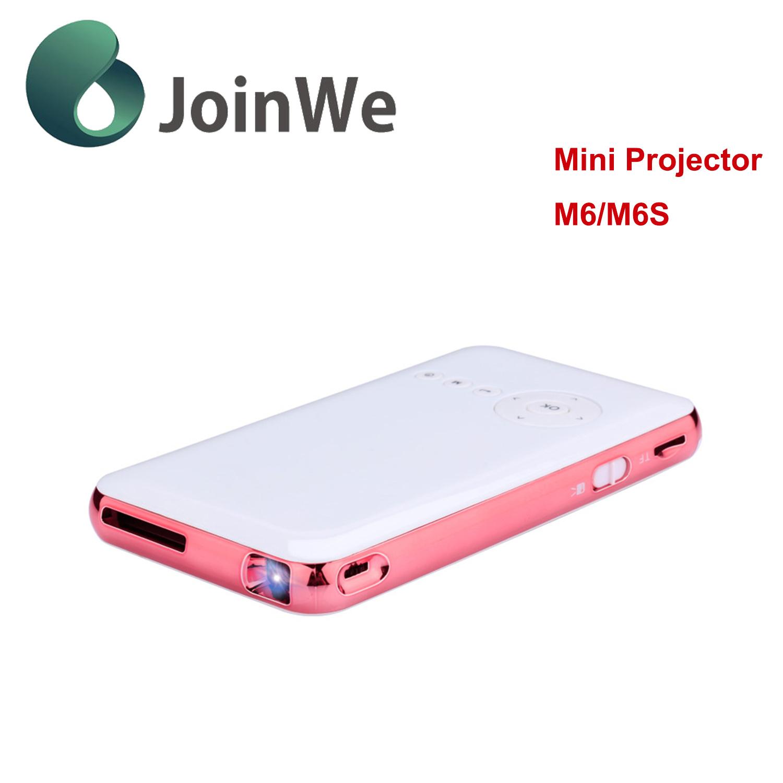 Multimedia Portable HD LCD Smart Mini Projector M6/M6s