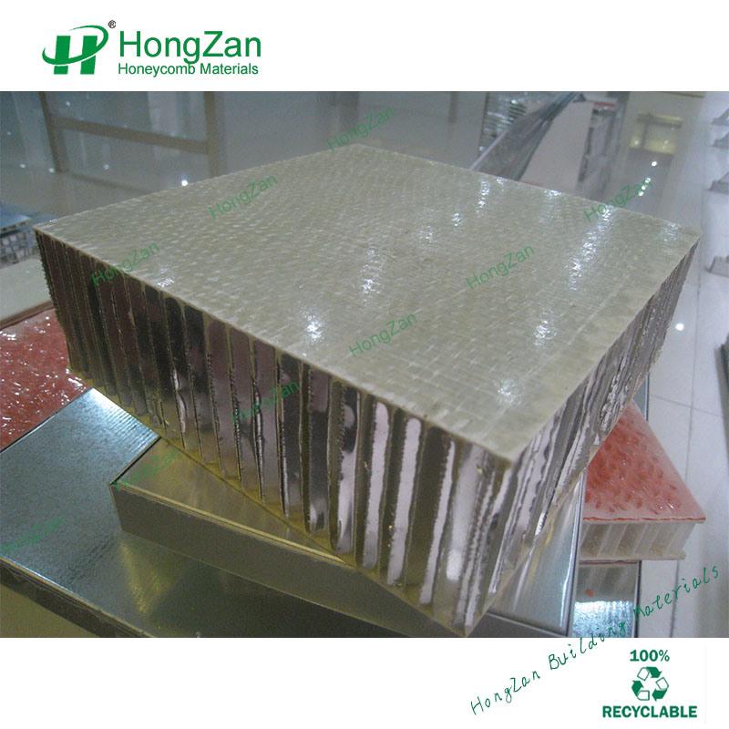 Non-Slip Fiberglass Honeycomb Panels with Aluminum Core for Floor