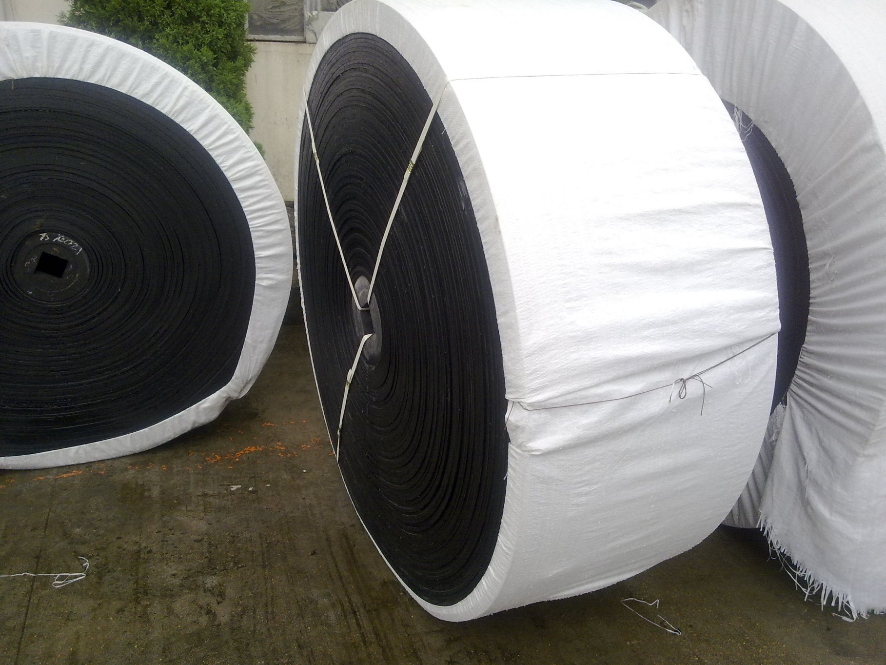 Oil-Resistant Cotton Fabric Rubber Conveyor Belt