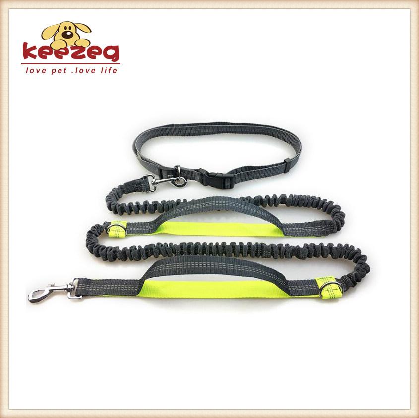 Reflective Hands Free Dog Leash, Adjustable Leash and Belt (KC0088)