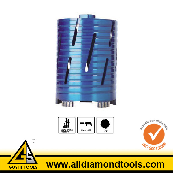 Dry Use Diamond Core Drill Bits for Concrete (HDCB)