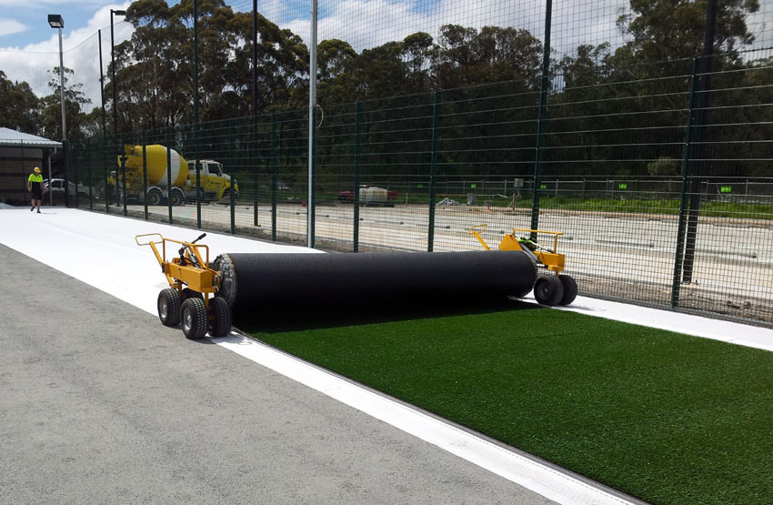 Turf Carrier for Artificial Grass