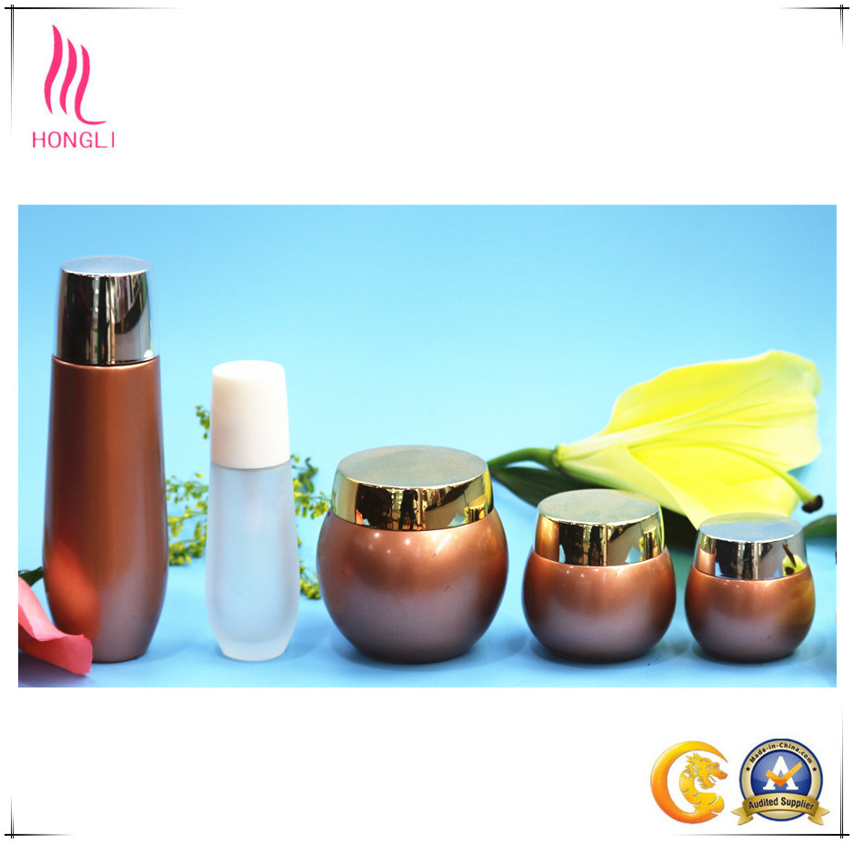 Wholesale 30ml~120ml Custom Luxury Skin Care Cosmetic Container Cosmetics Cream Glass Bottles and Jars