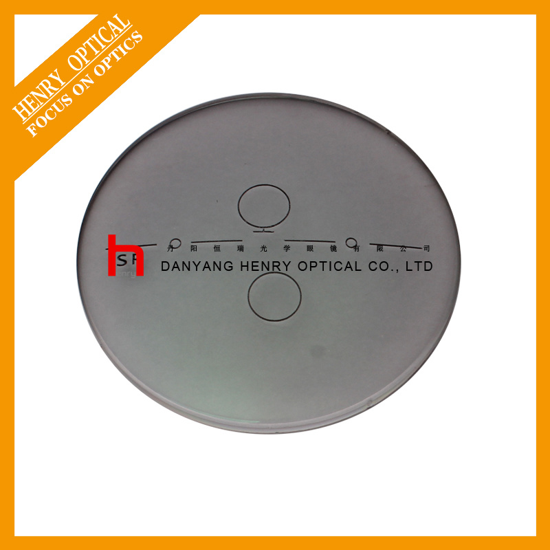1.56 Single Vision Photochromic Gray Optical Lens Hmc