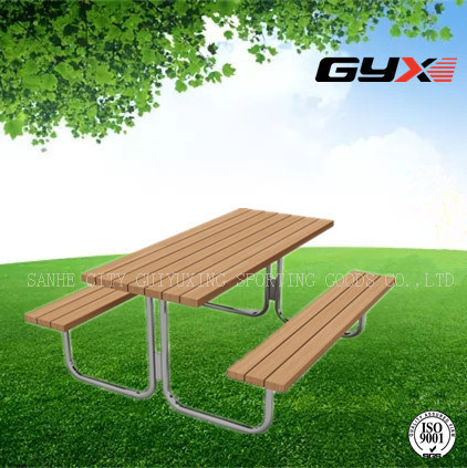 Outdoor Tables and Chairs Combined for Park in Summer
