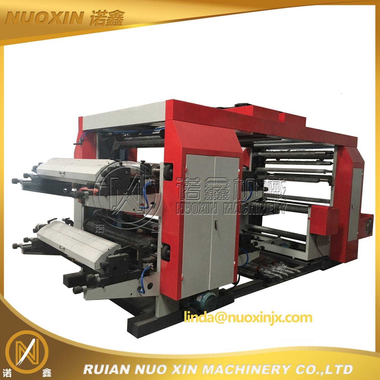 4 Colour Non Woven Fabric Flexographic Printing Machine (NX)