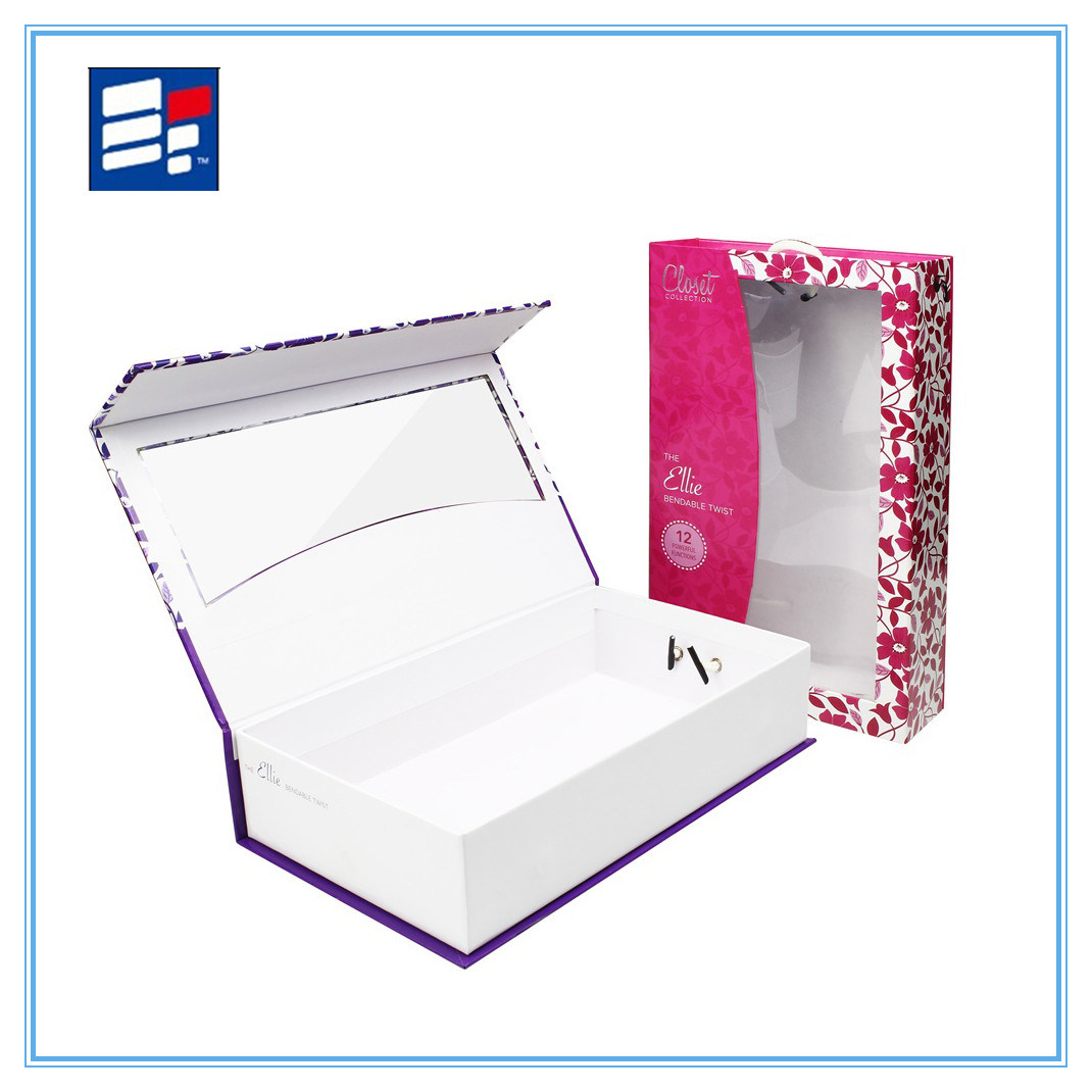 Custom Window Paper Gift Box for Electronic Showing