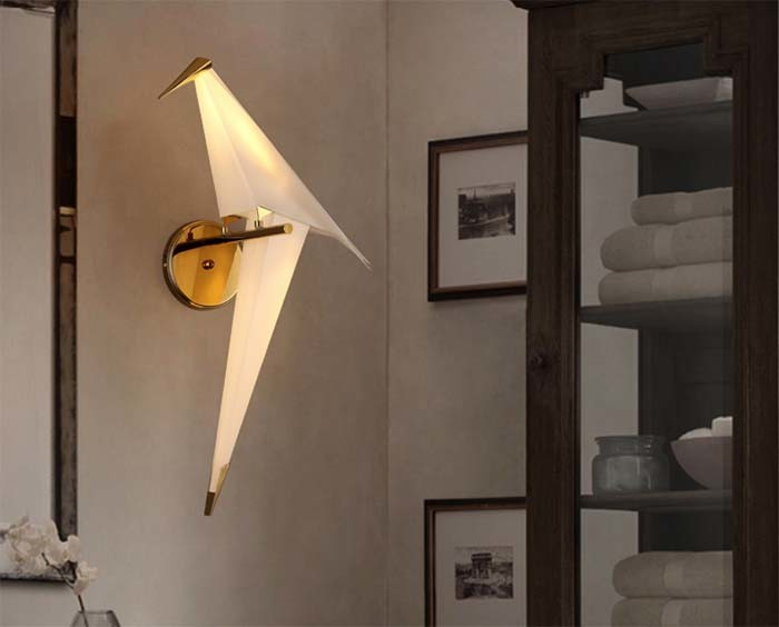 So Wonderful Design Fashion Bird LED Sconce Wall Lamp Light for Reading