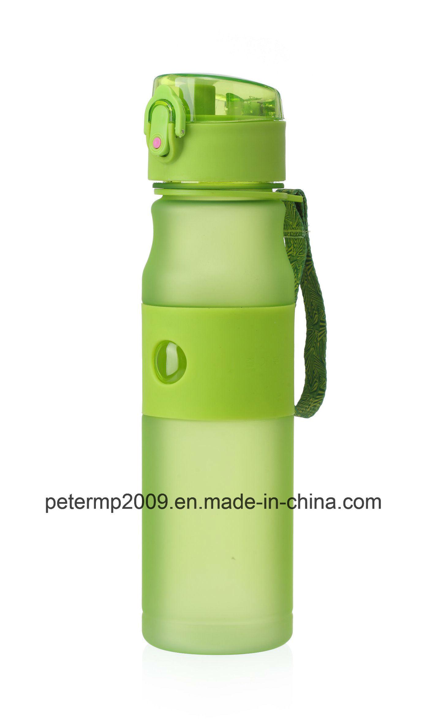 580ml Popular Plastic Tritan Infuser Water Bottle, Customized Plastic Sport Water Bottle