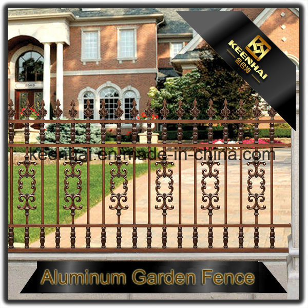 Modern Metal Aluminum Garden Fencing Decoration for Villa