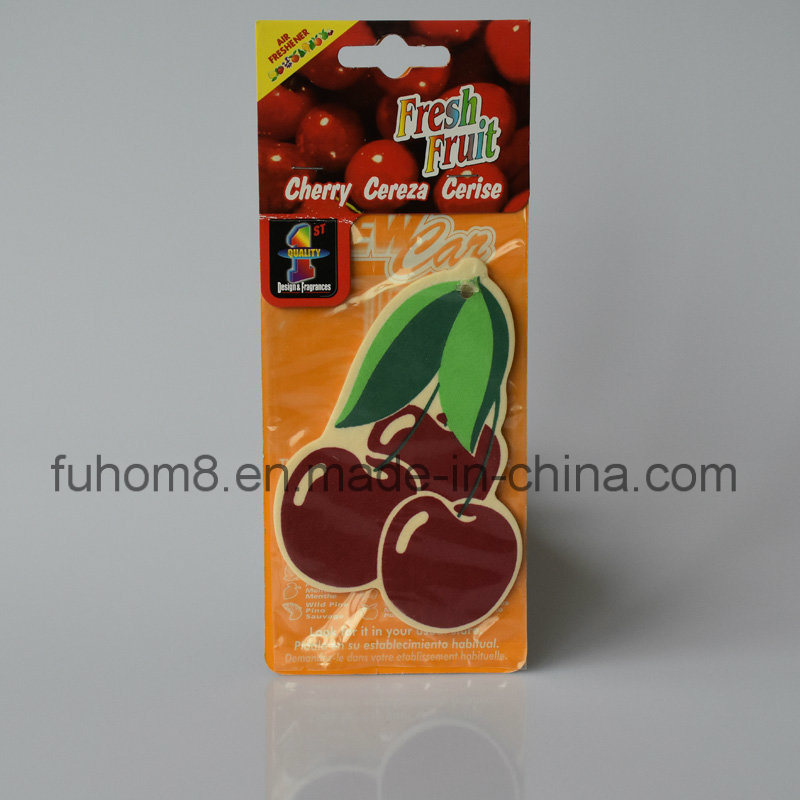 Hanging Scented Paper Car Air Freshener with High Quality