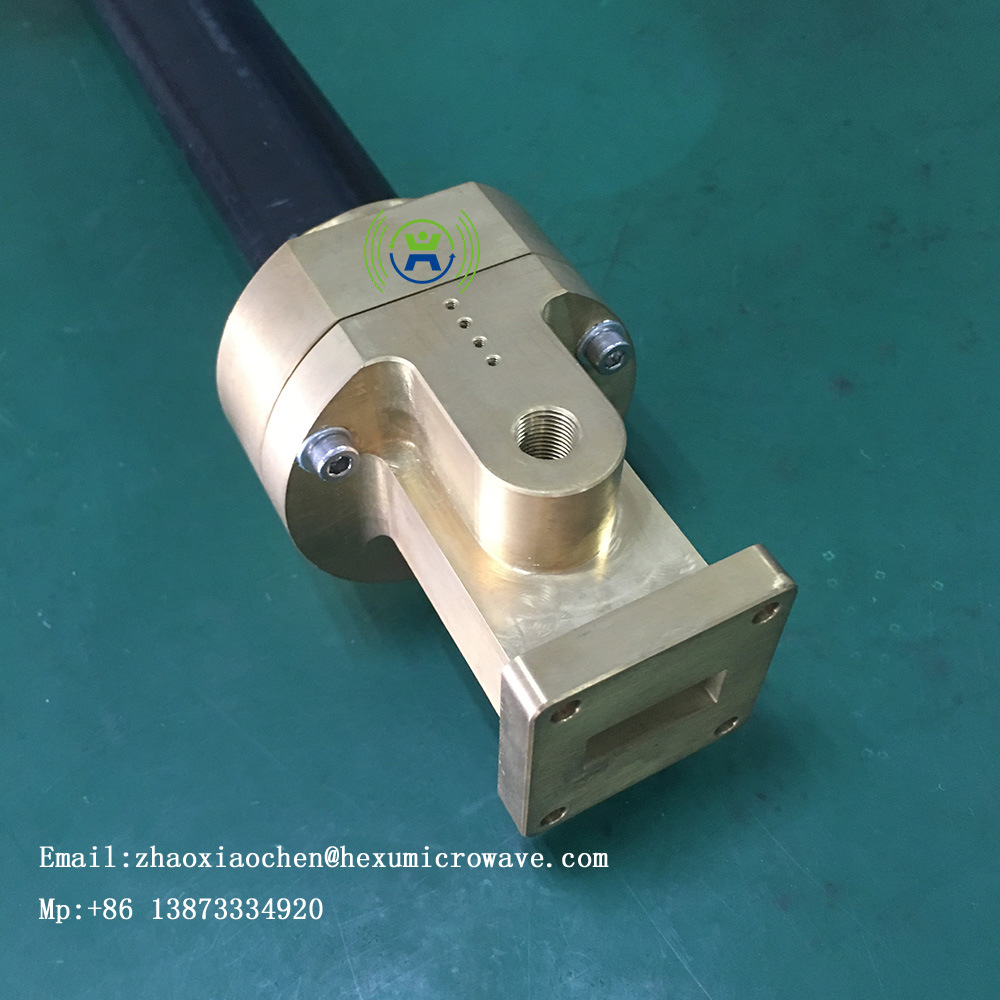 Broadcasting and Communication System Elliptical Waveguide and Connector