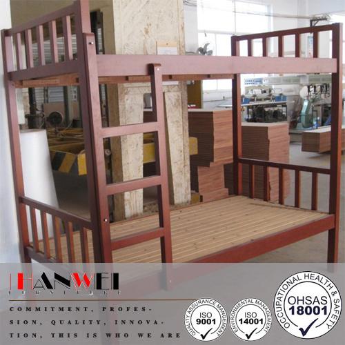 Single Wooden Bunk Bed Frame