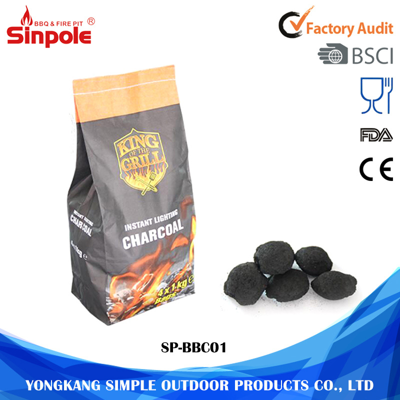 Hot Selling Eco-Friendly High Quality Wholesale Barbecue Hardwood Charcoal