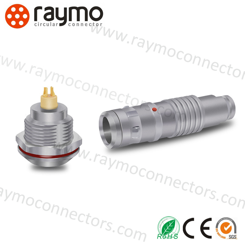 K Series Fgg Circular Outdoor Waterproof 2 Pin Connectors