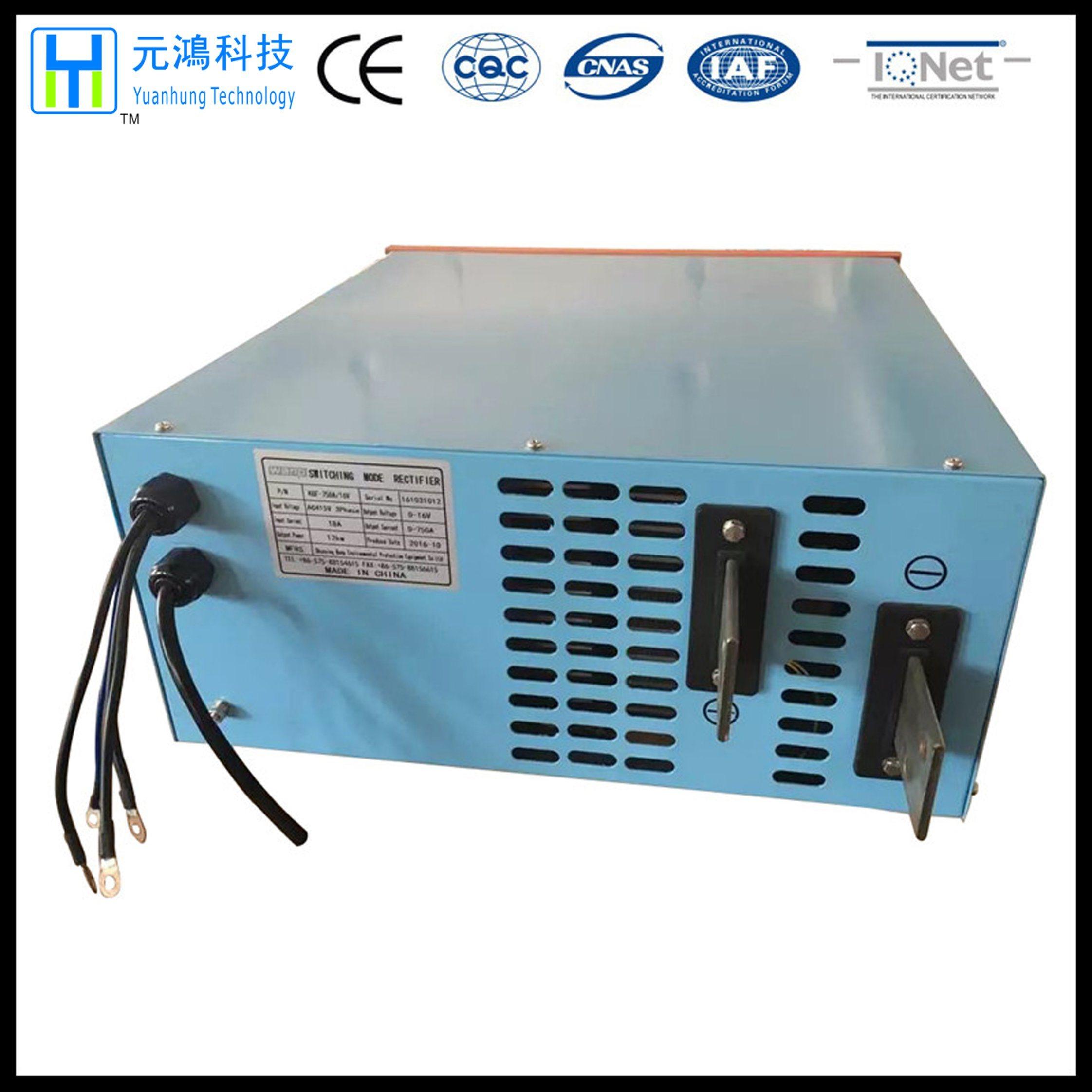 415V (AC) 750A 16V Electroplating Power Supply Rectifier