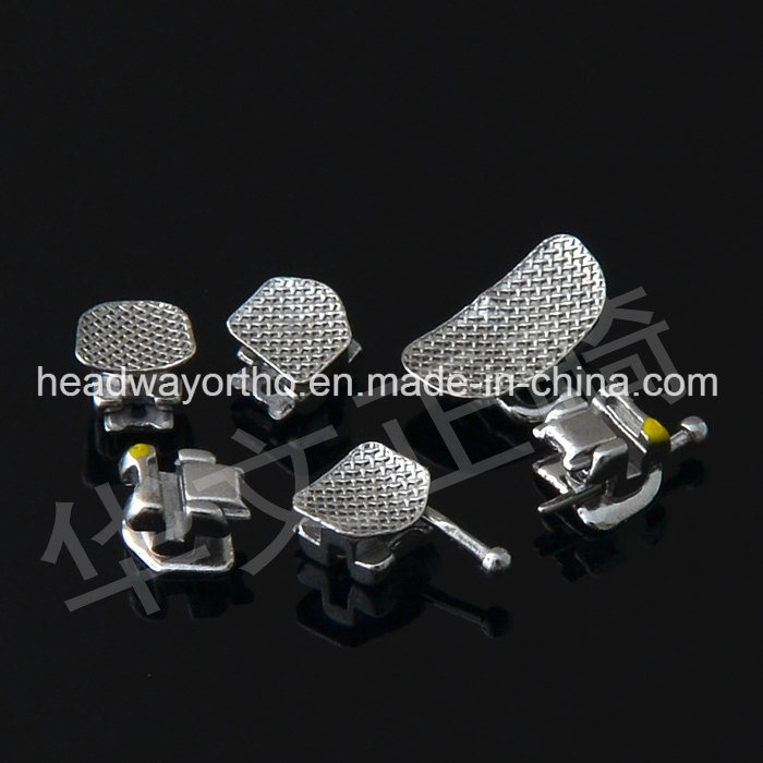Medical Supply Dental Metal Self-Ligating Bracket with Ce Certificate