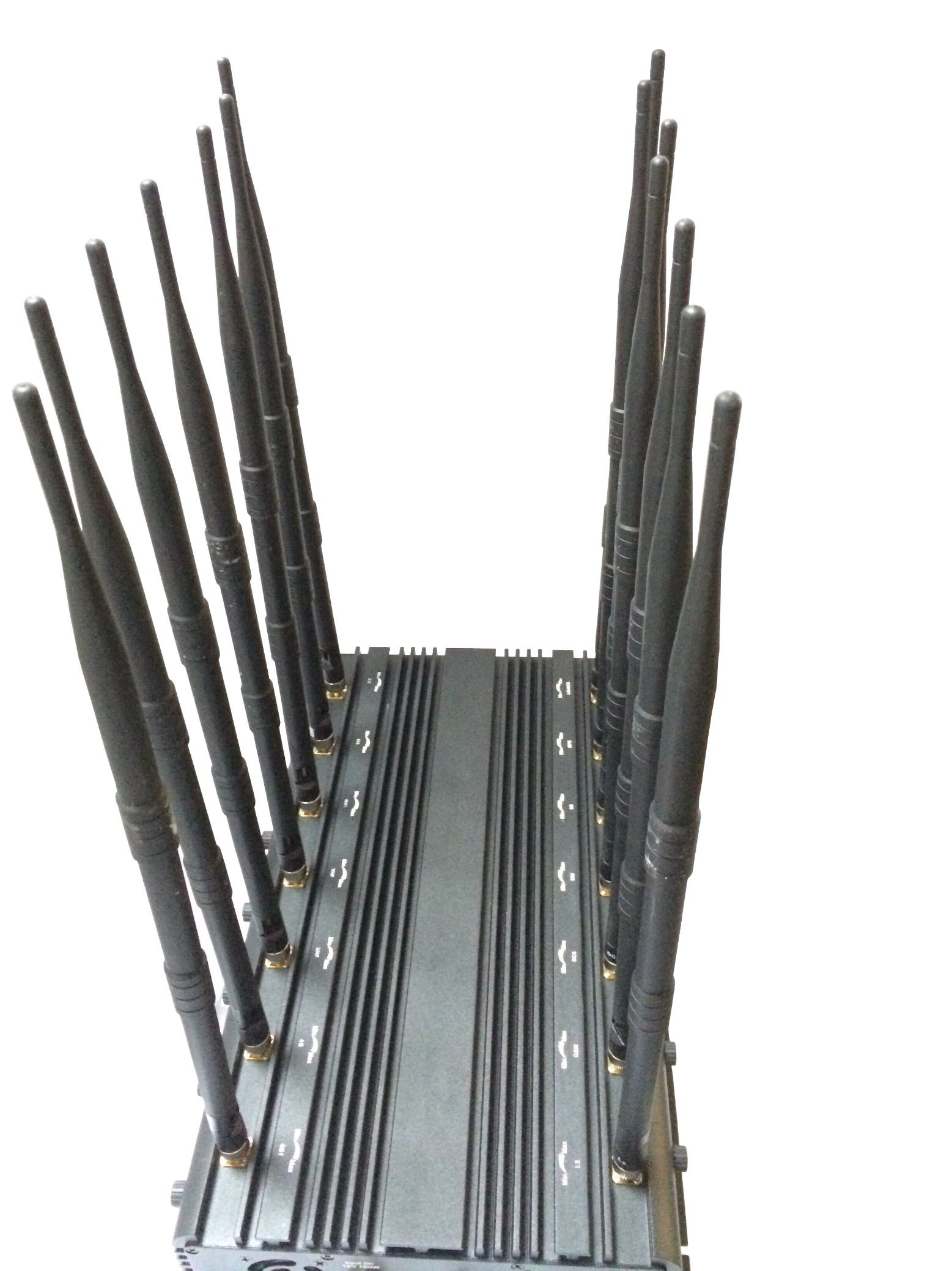 New All in One Full Frequencies Signal Jammer with 14 Antennas