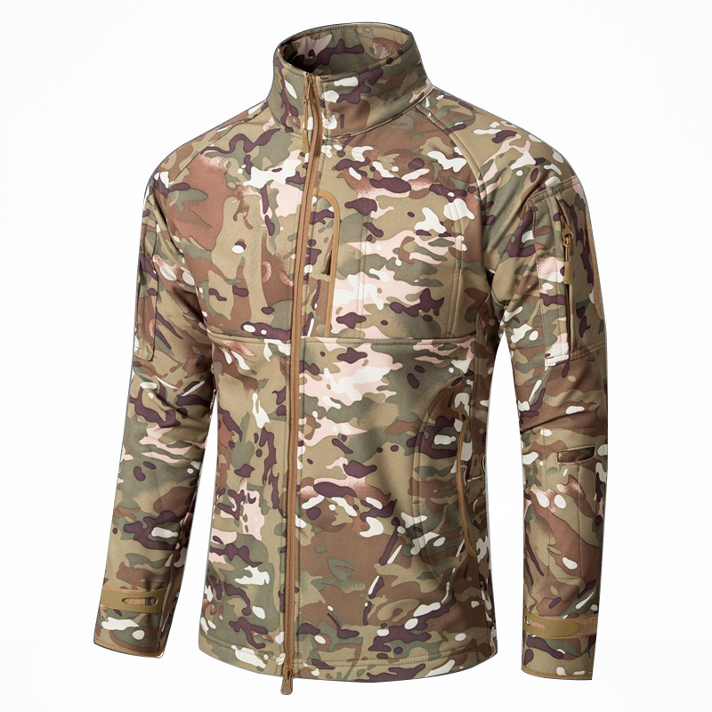 China Wholesale Popular Commander Soft Shell Combat Assault Jacket
