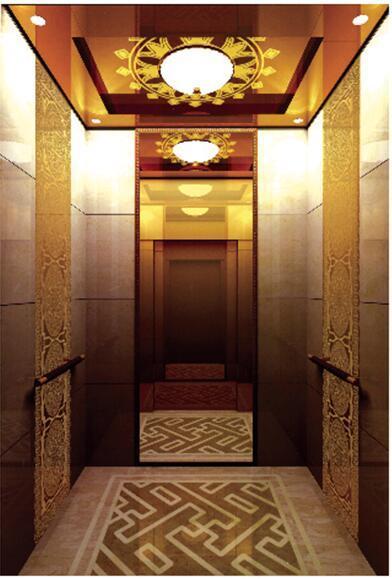Good Decoration Gearless Passenger Elevator (ALD-KC031)