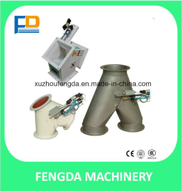 Pneumatic Two-Way Diverter for Feed Conveying Machine