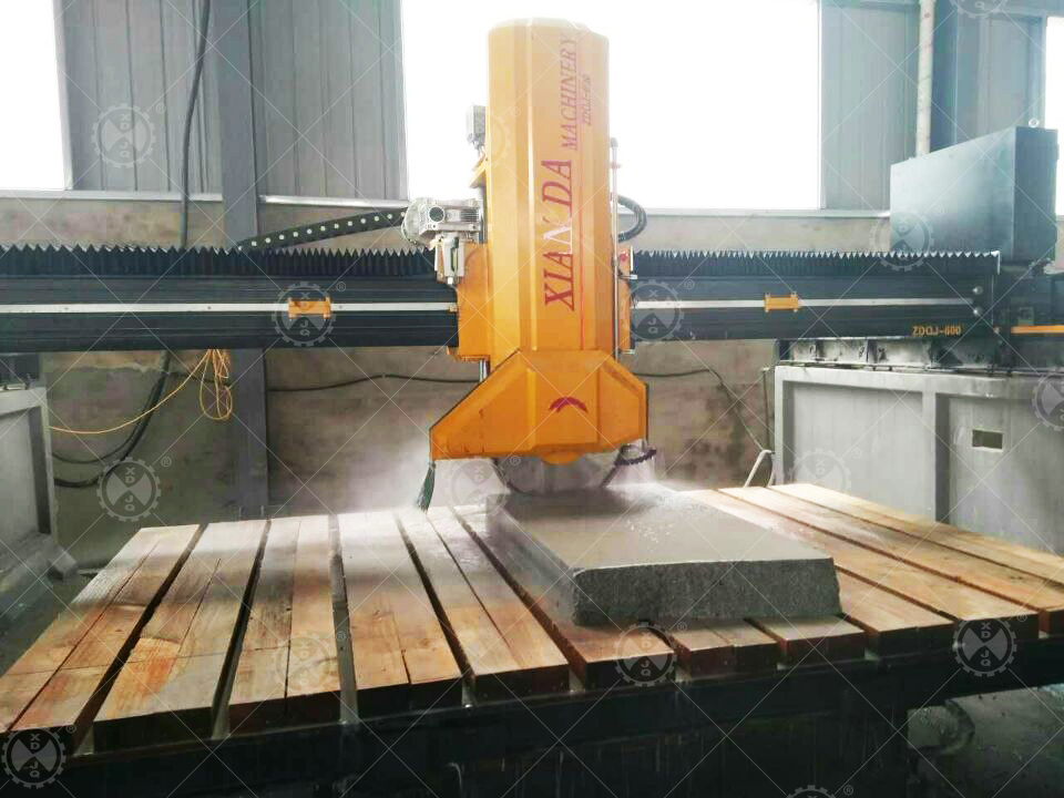 Zdqj-600 Laser Stone Bridge Cutting Machine with Bridge Saw Cutter