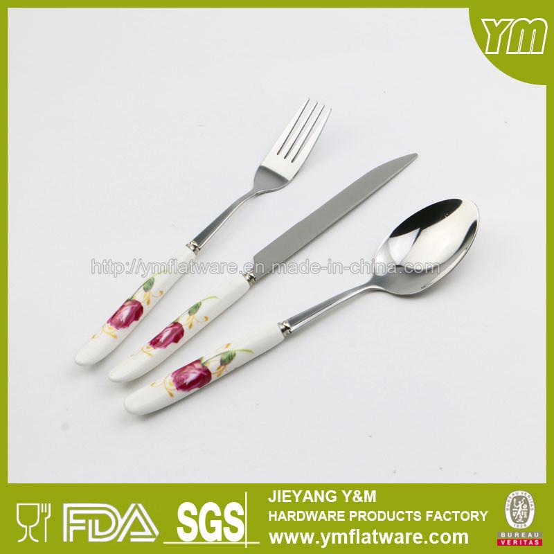 Ceramic Handle Stainless Steel Cutlery
