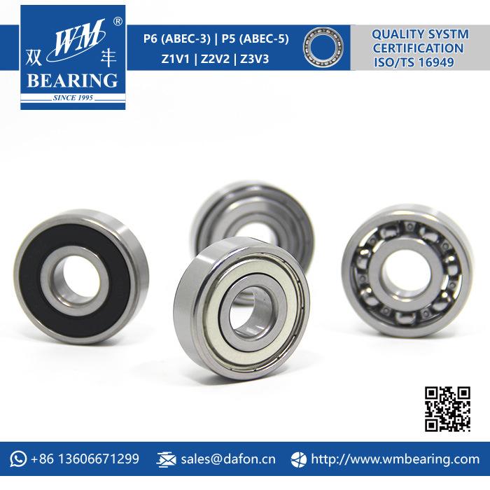Chrome Steel Ceramic Deep Groove Ball Bearing (6302-2RZ)