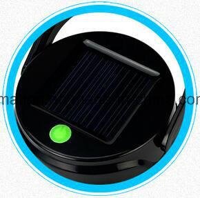 Solar Camping Water Bottle LED Light Rechargeable Battery Cup Lantern