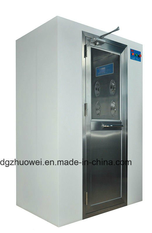 Food Industry Powder Coated Steel Electrical Automatic Air Shower
