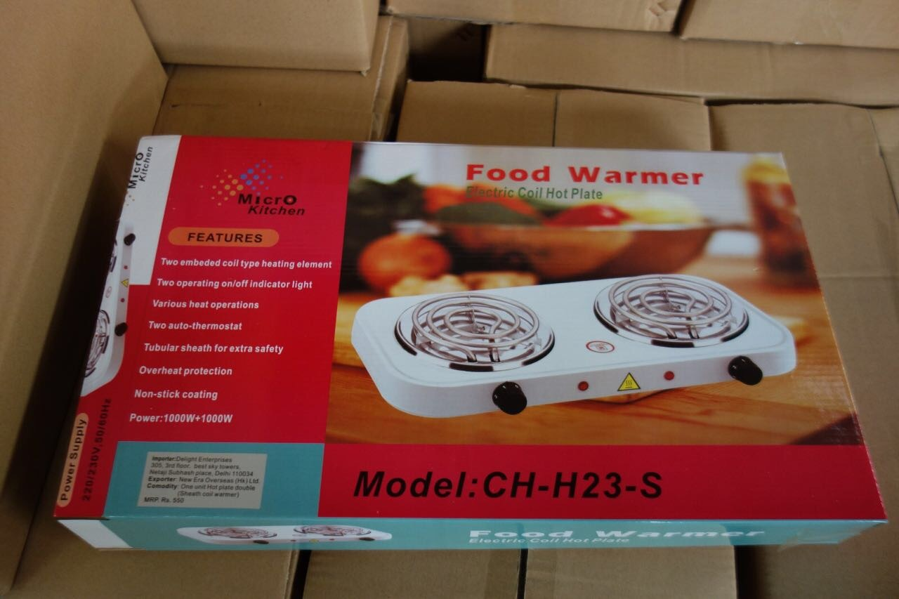 Electric Stove Two Burners (HP-S821) From Stock