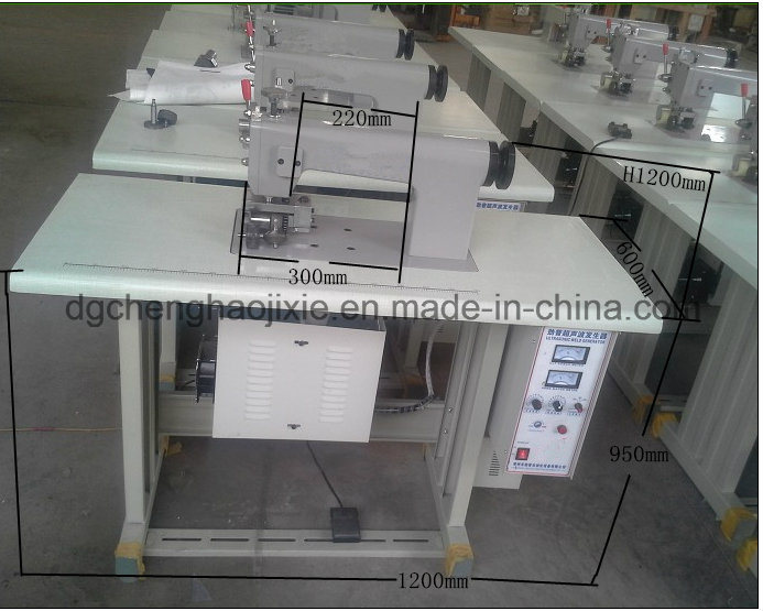 60mm Automatic Ultrasonic Medical Gown Sewing Machine