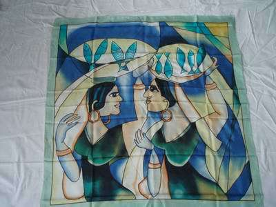Silk Painting Scarves Arty's Gutta Silk Scarves