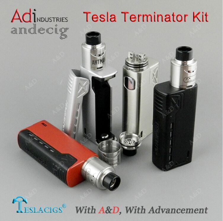 2017 Newest Tesla Terminator 90W Kit Vape Box Mod, Tesla Electronic Cigarette