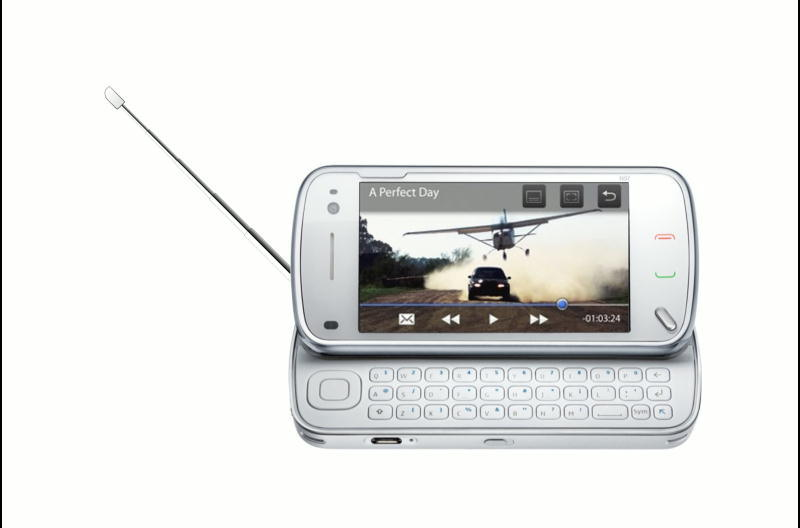 full touch screen slider mobile with qwerty keypad