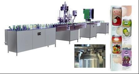 Can Filling/Sealing Beverage Production Line